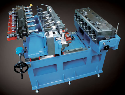 sacma, header, combined, machine, precision, production, manufacturing, precision,CR, quick tool change, machine, equipment, bench, pre-centering, punches, fixed, transfer, unit