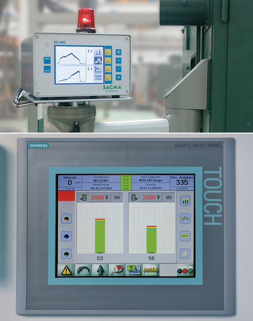monitoring system, Sacma, multi station, cold forging machines, machine, onitoring systems, systems, control system, CRM, progressive machines, combined machines, monitor, sensors