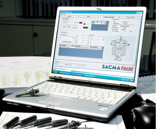 Sacma Form, Sacma, Modern fastener, manufacturing, customers, choice, machine, cooperation, Mechanical, Application, Engineering Department, Padua University, characteristics, software